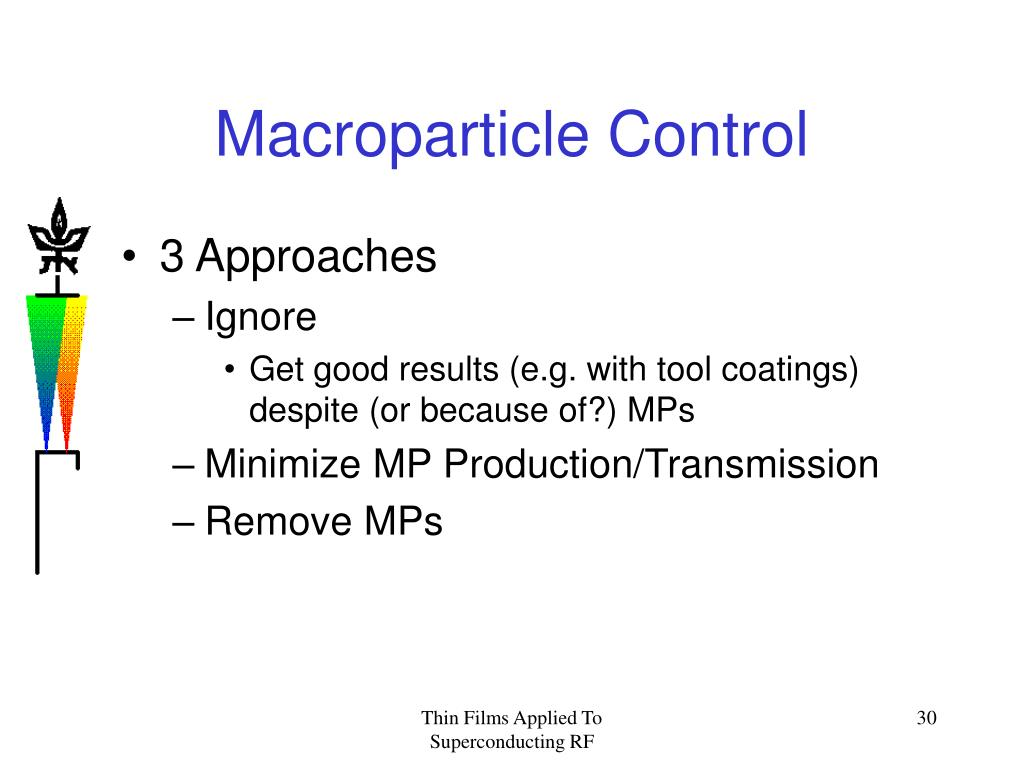 Macroparticle Control