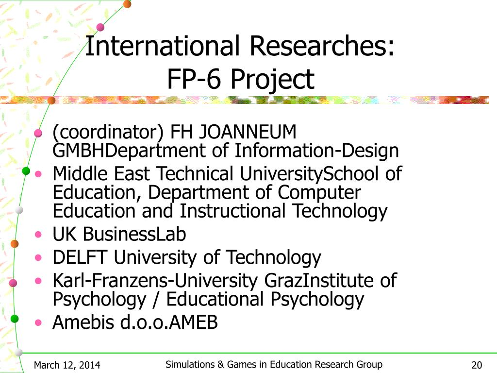 International Researches: