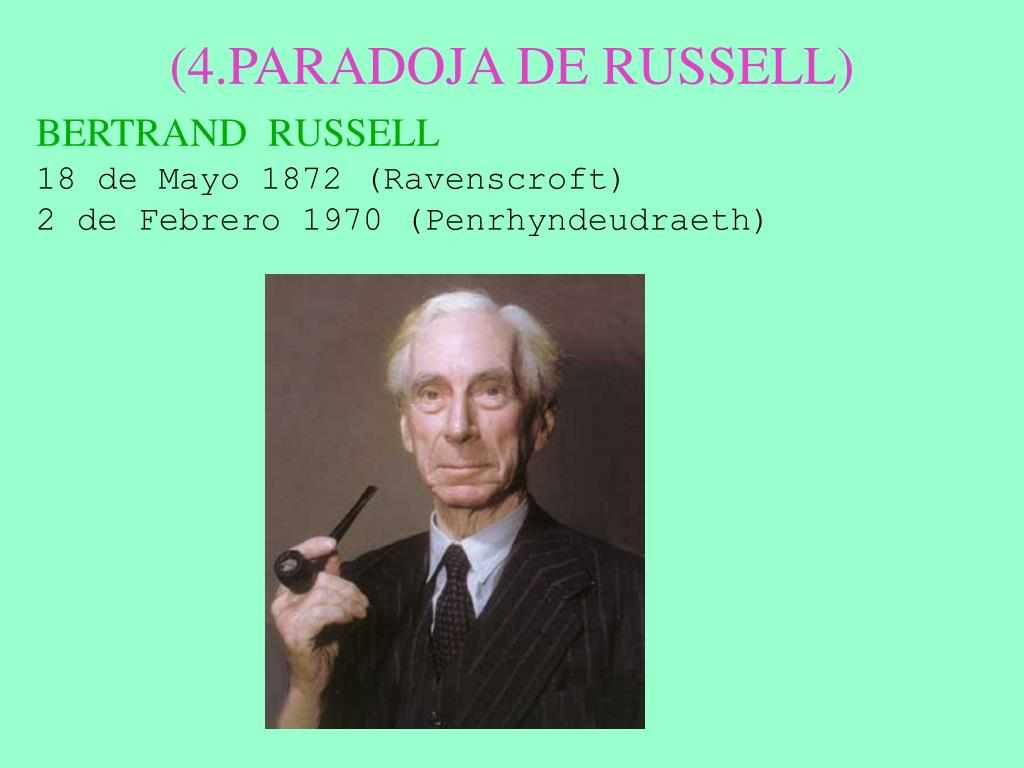 (4.PARADOJA DE RUSSELL)