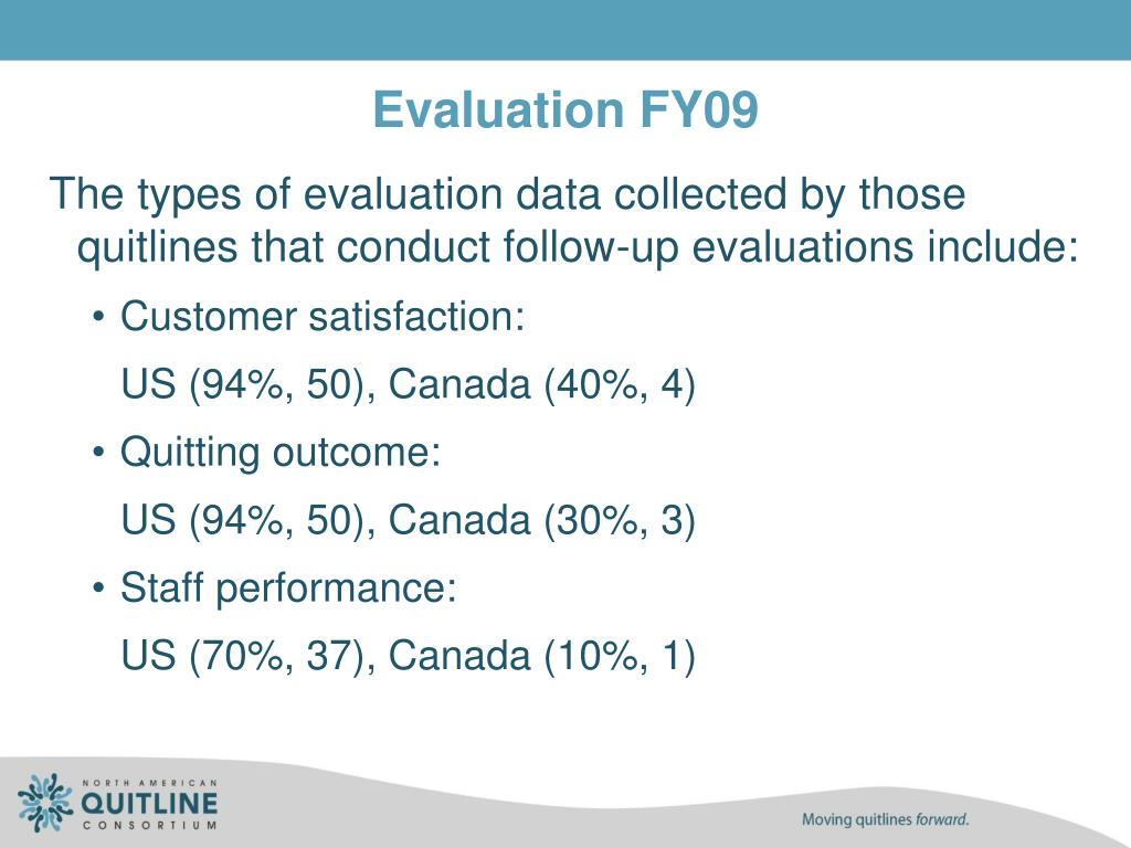 Evaluation FY09