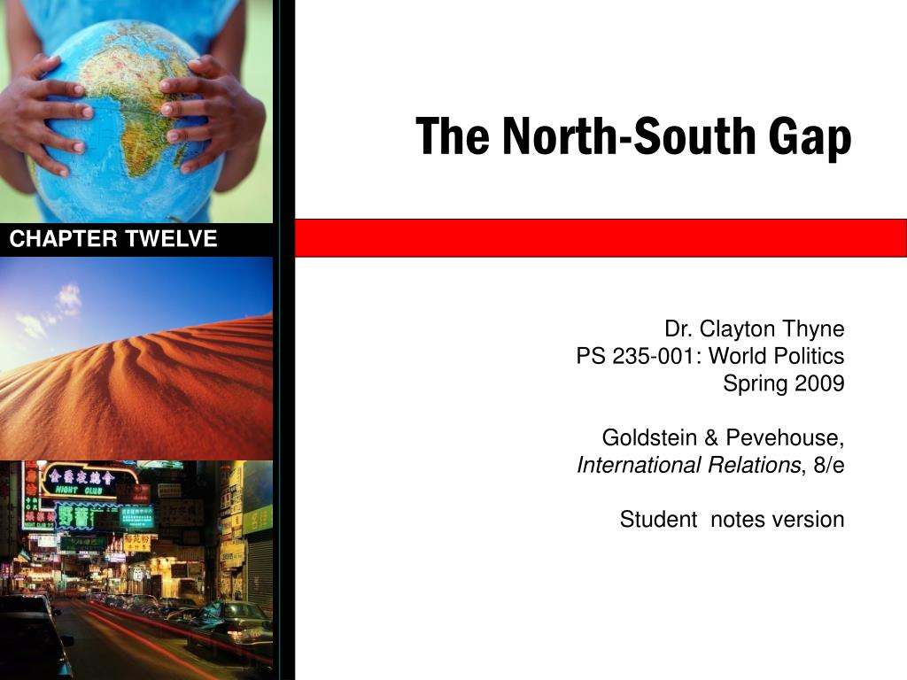 the north south gap