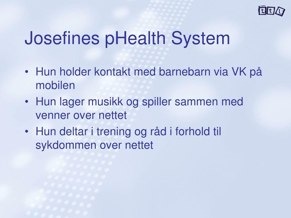 Josefines pHealth System