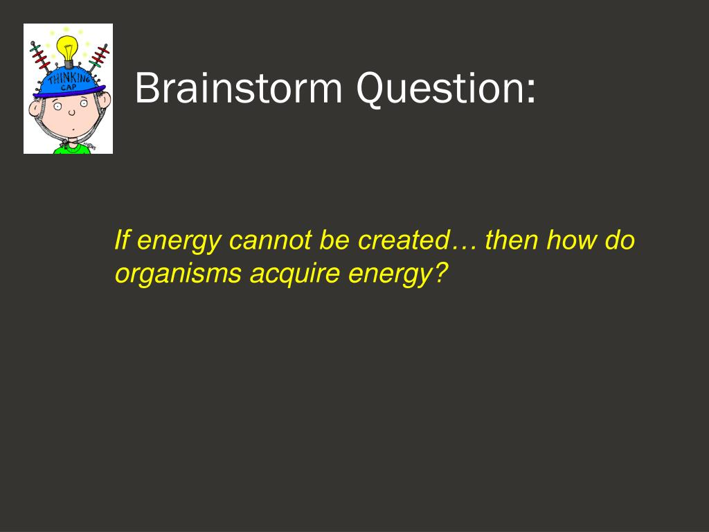 Brainstorm Question: