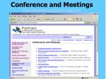 conference and meetings http phpartners org conf mtgs html