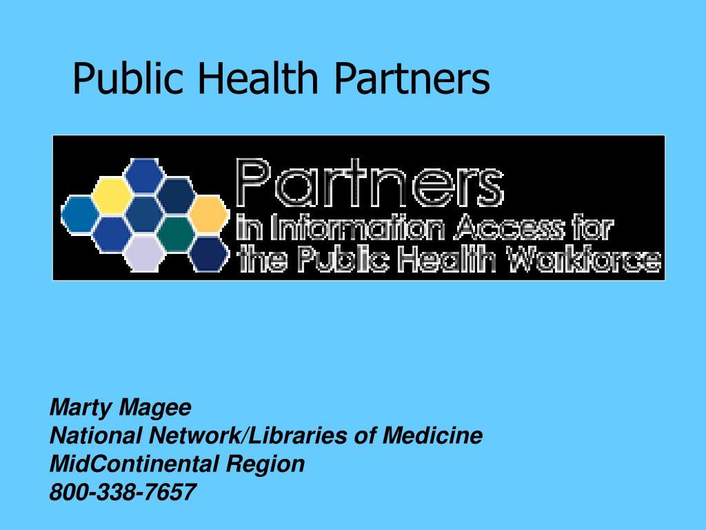 Public Health Partners