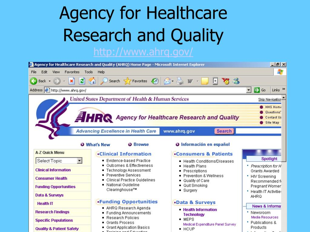 Agency for Healthcare