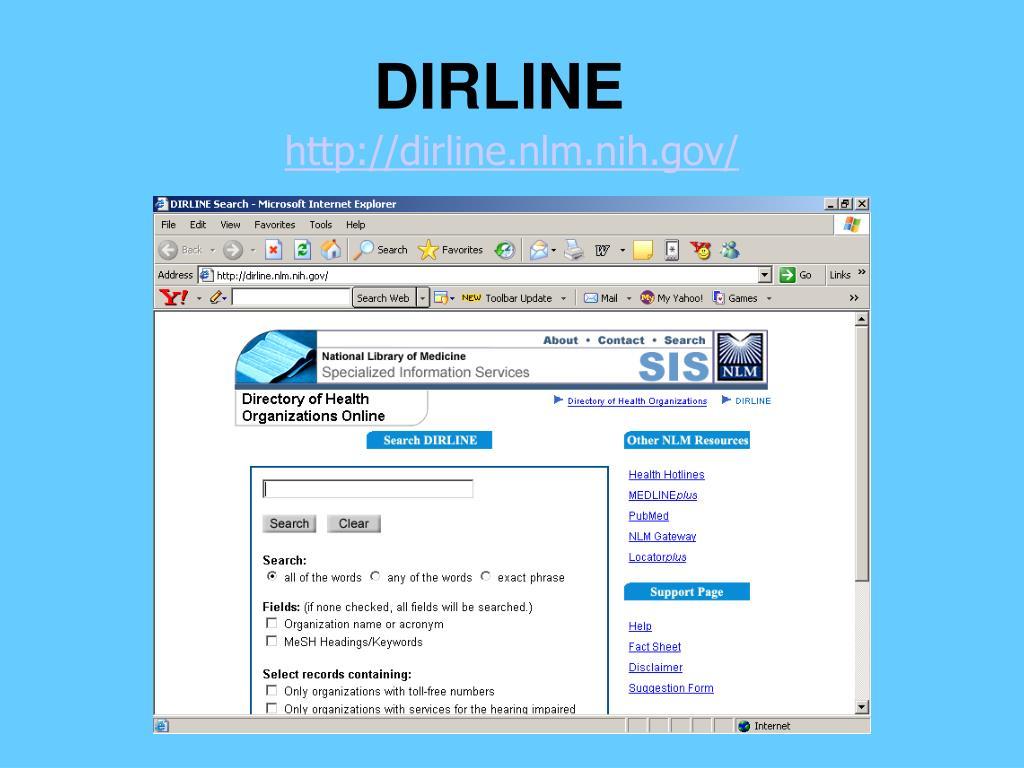 DIRLINE