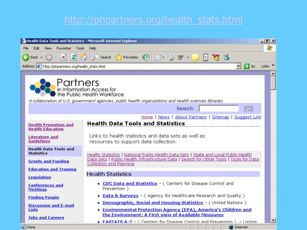 http://phpartners.org/health_stats.html