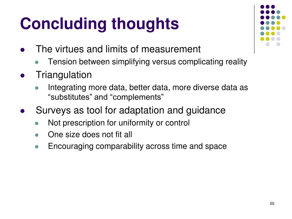 The virtues and limits of measurement