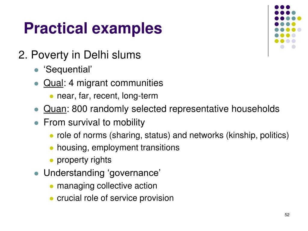 2. Poverty in Delhi slums