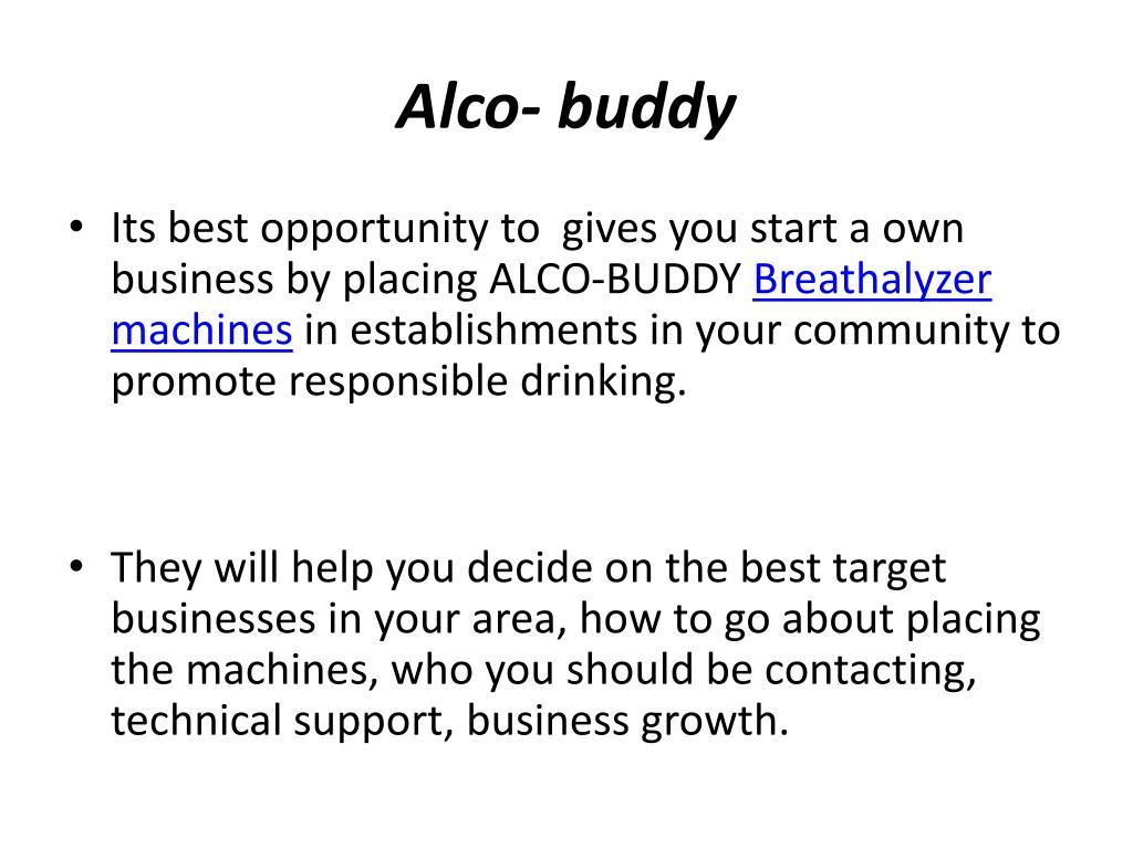 Alco- buddy