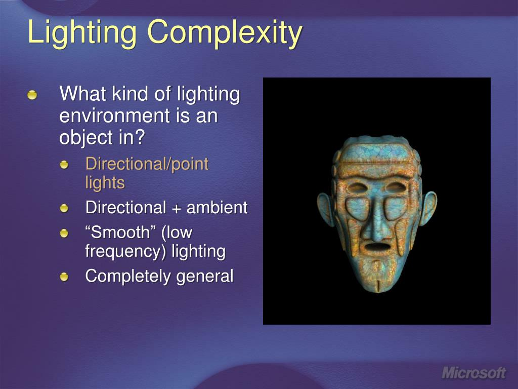 Lighting Complexity