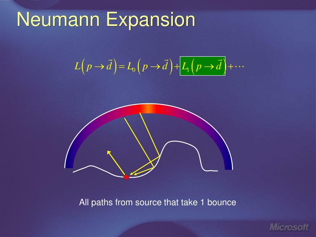 Neumann Expansion