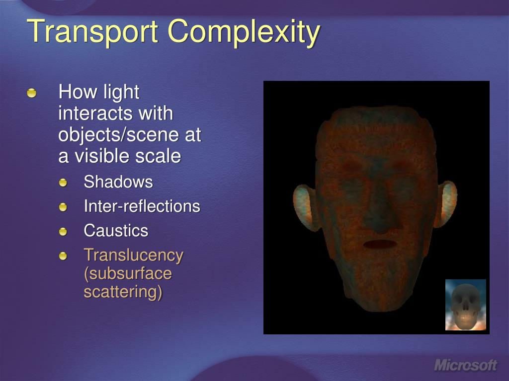 Transport Complexity