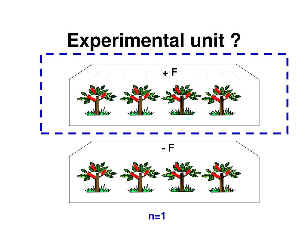 Experimental unit ?