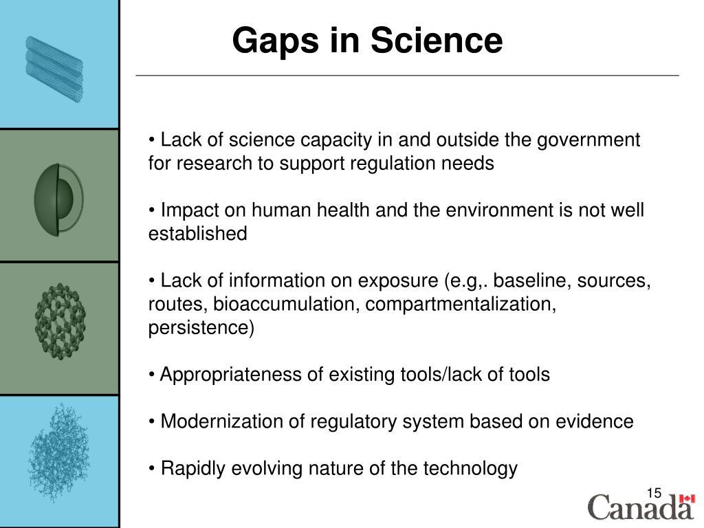 Gaps in Science