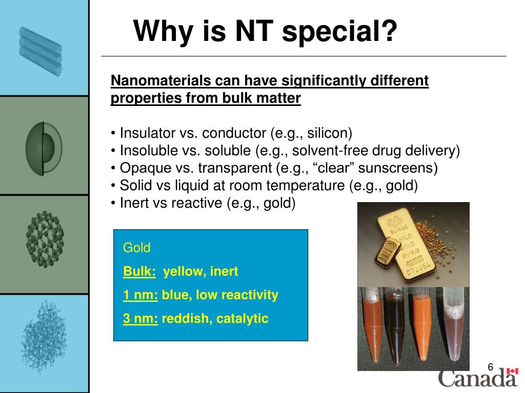 Why is NT special?