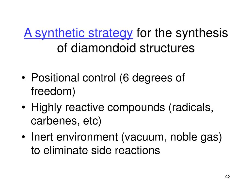 A synthetic strategy