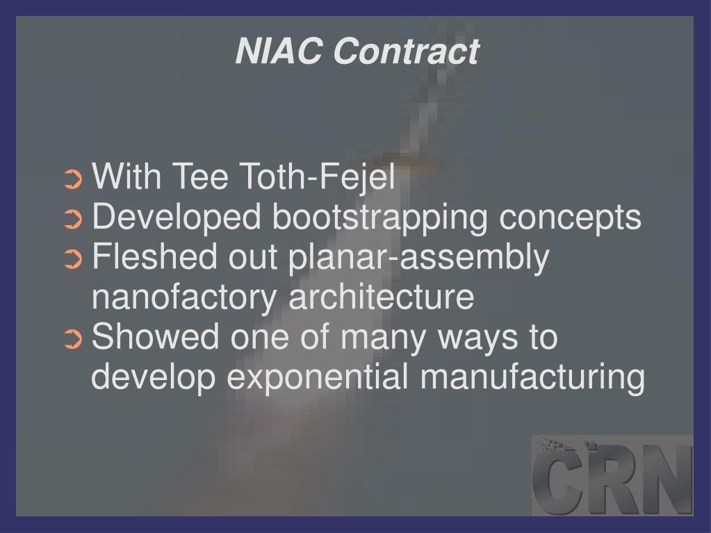 NIAC Contract