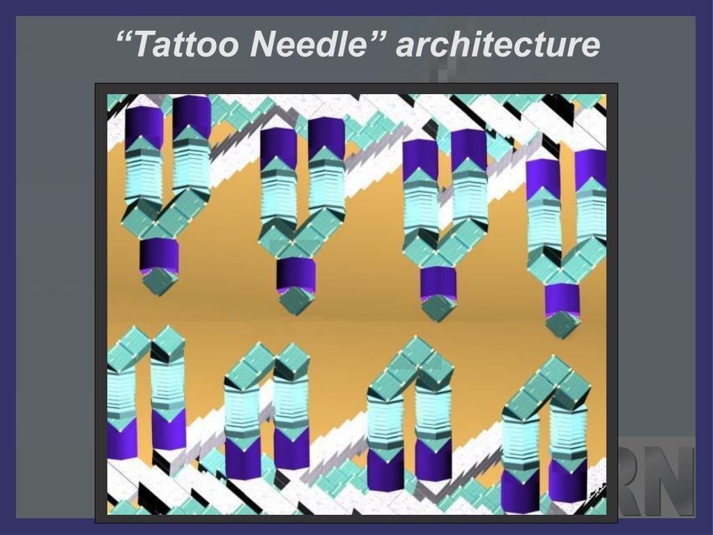"""Tattoo Needle"" architecture"