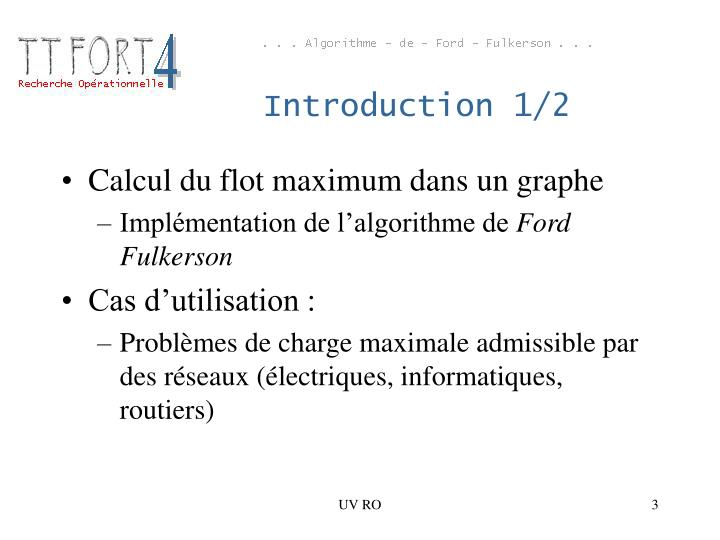 Introduction 1 2
