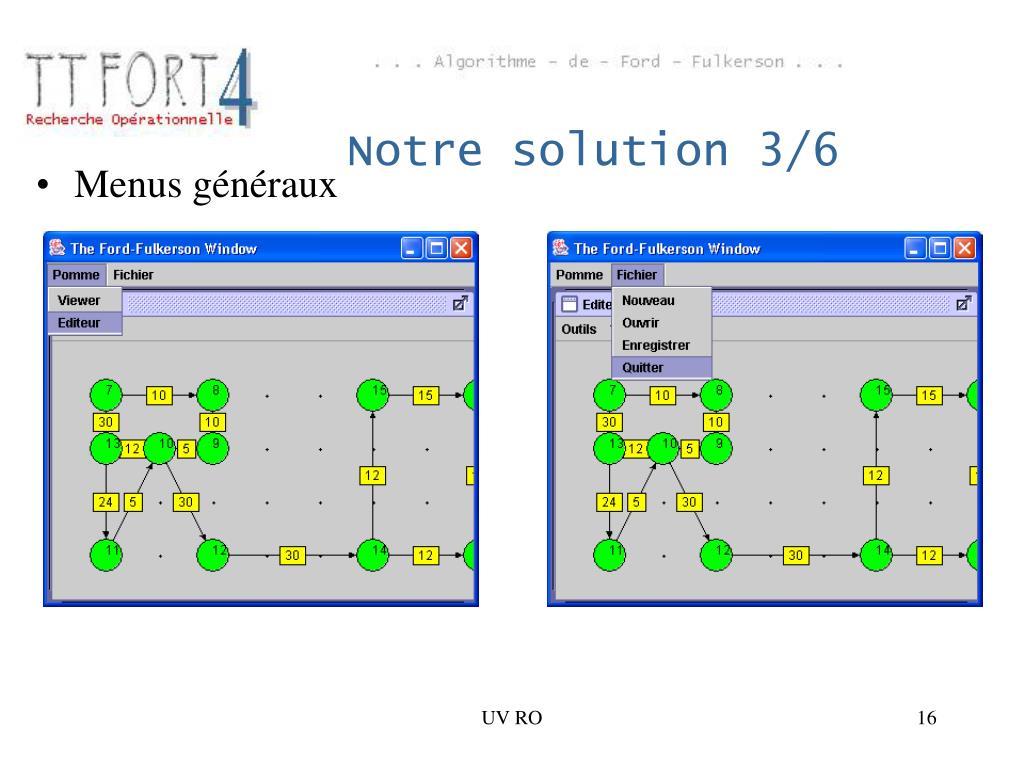 Notre solution 3/6