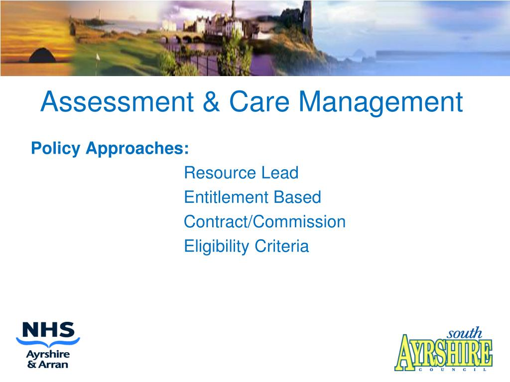 Assessment & Care Management