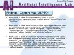 findings content map uspto