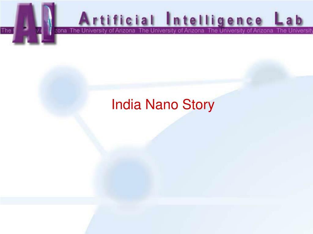 India Nano Story