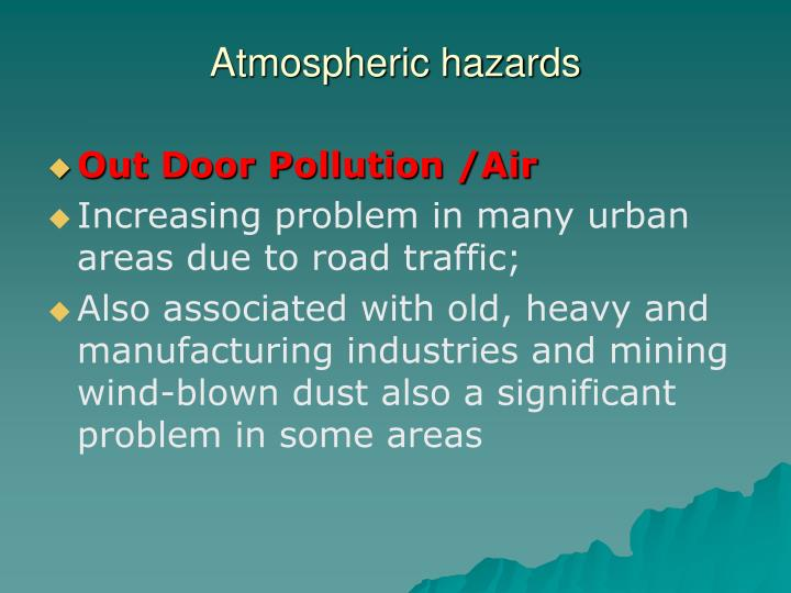 Atmospheric hazards