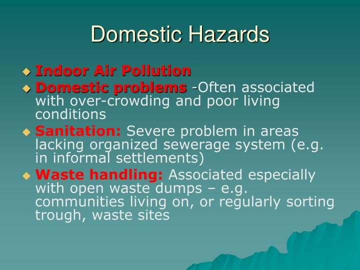 Domestic Hazards