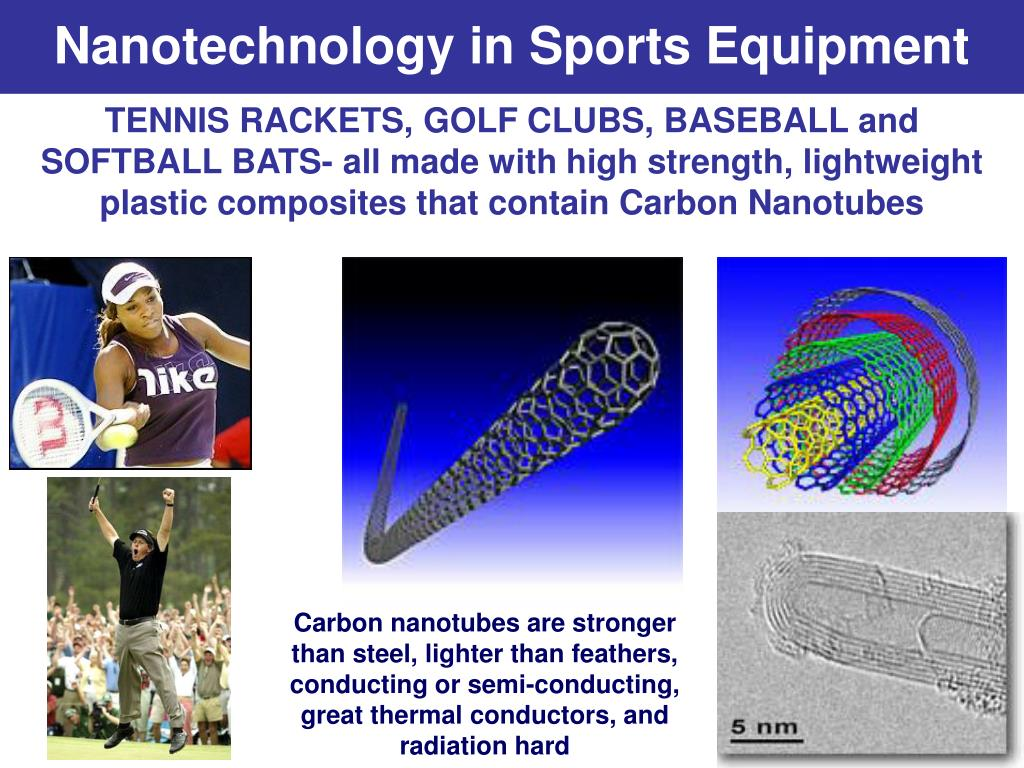 nanotechnology in sports science and equipment in china China, along with 40 other countries including the us, uk and japan, is investing in nanotechnology as a major key to global economic competitiveness, he says.