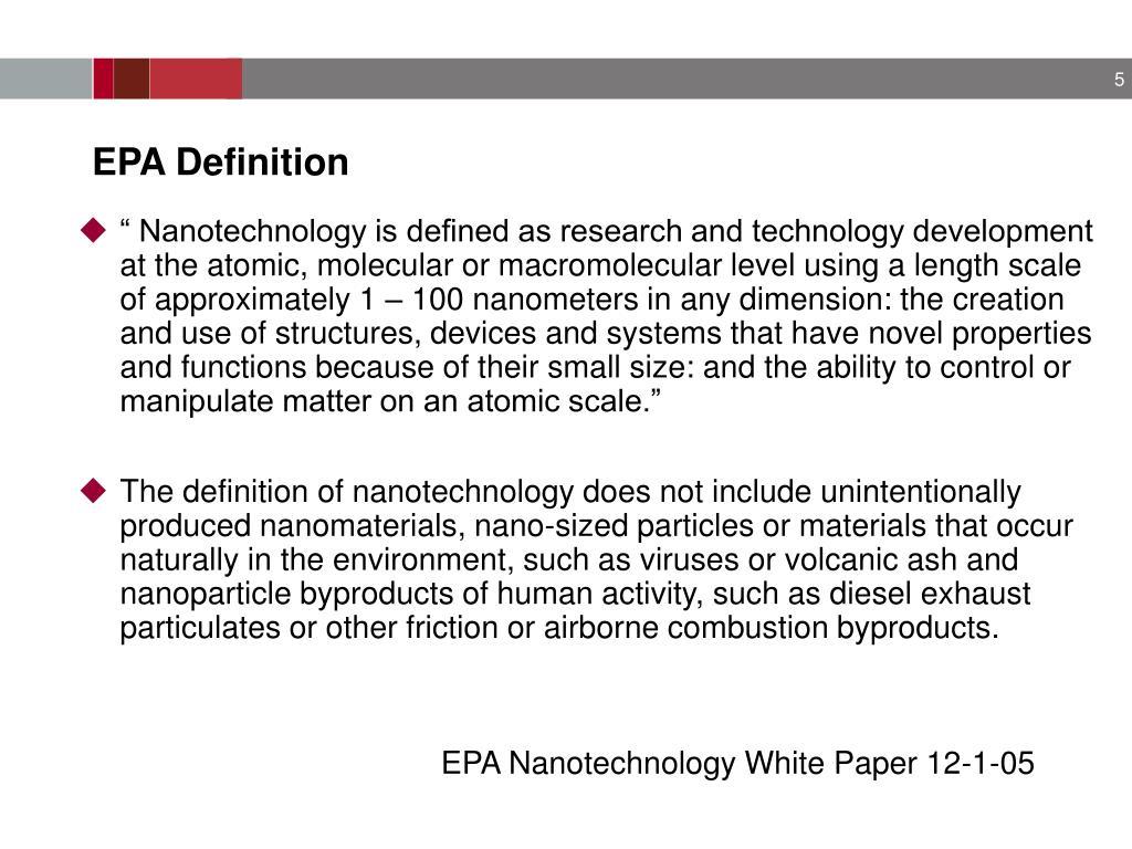 EPA Definition