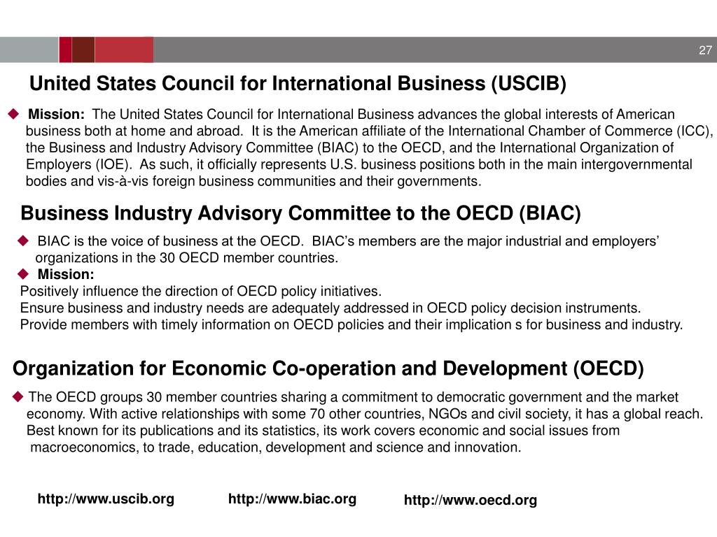 United States Council for International Business (USCIB)