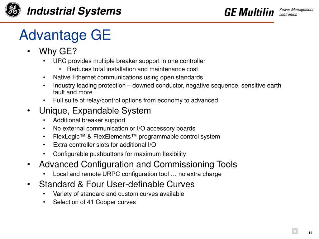 Advantage GE