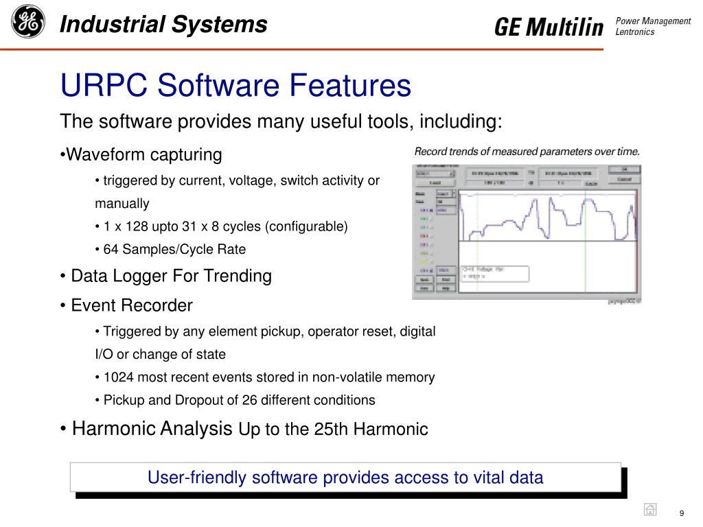 URPC Software Features