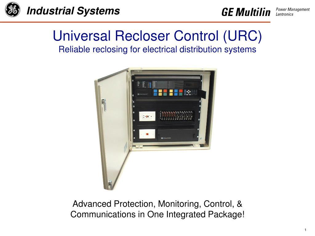 Universal Recloser Control (URC)