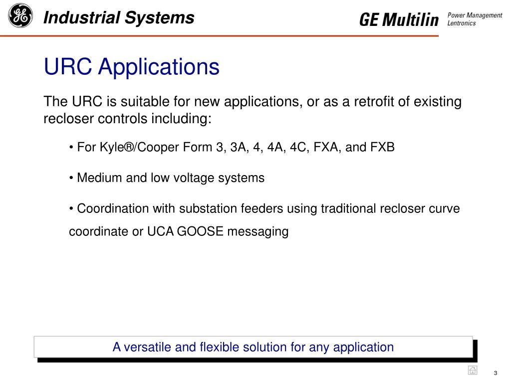 URC Applications
