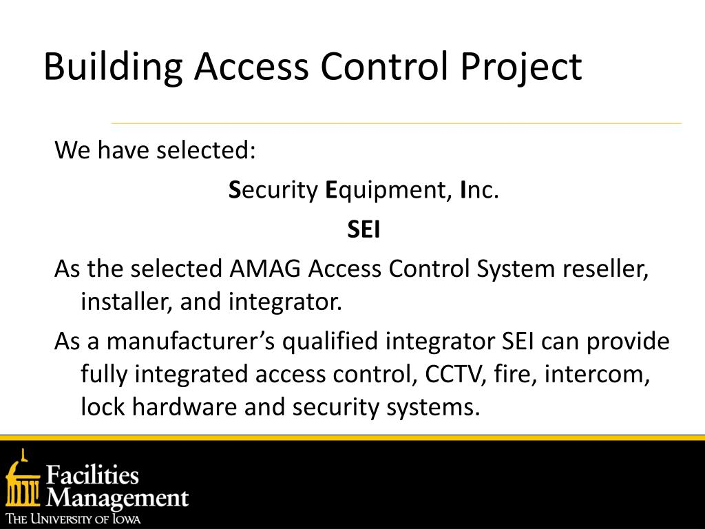 Building Access Control Project