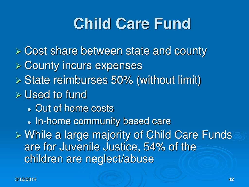 Child Care Fund
