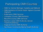 participating cmh counties