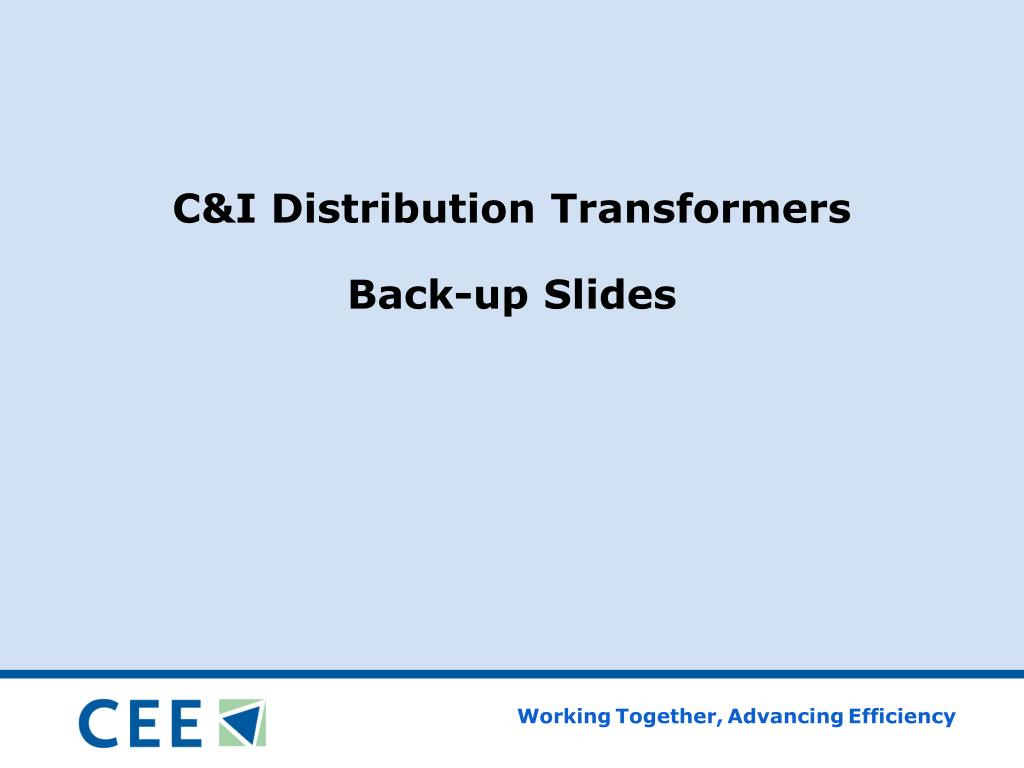 C&I Distribution Transformers