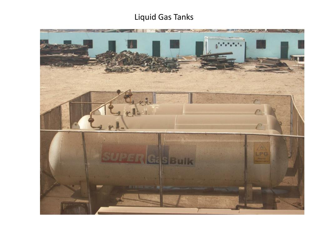 Liquid Gas Tanks