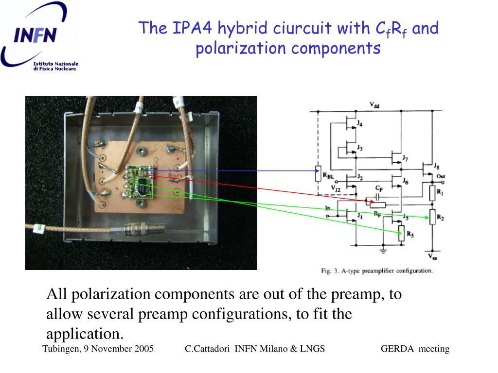 The IPA4 hybrid ciurcuit with C