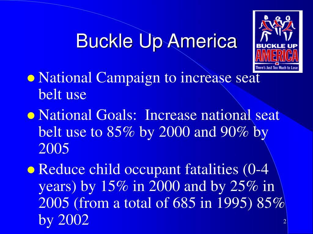 Buckle Up America