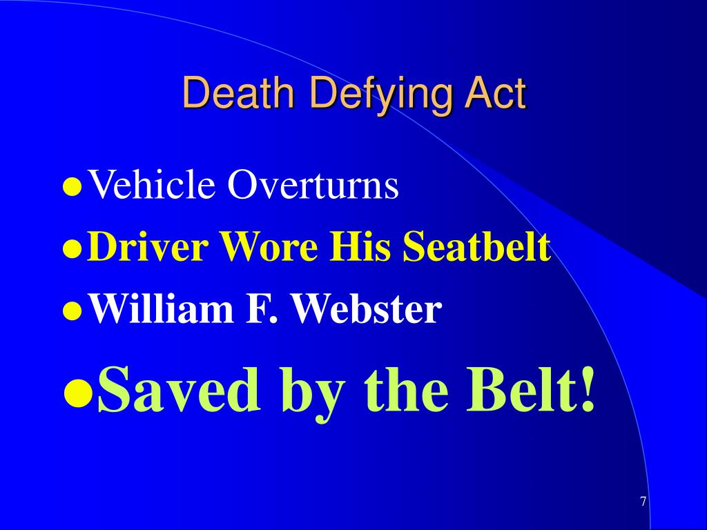 Death Defying Act
