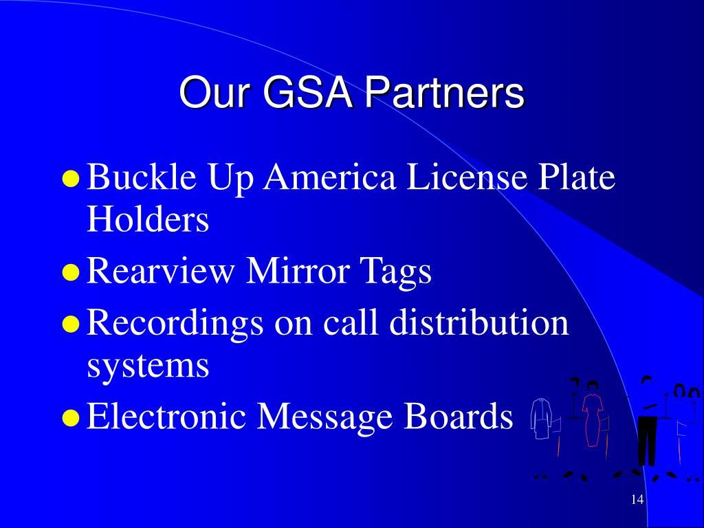 Our GSA Partners