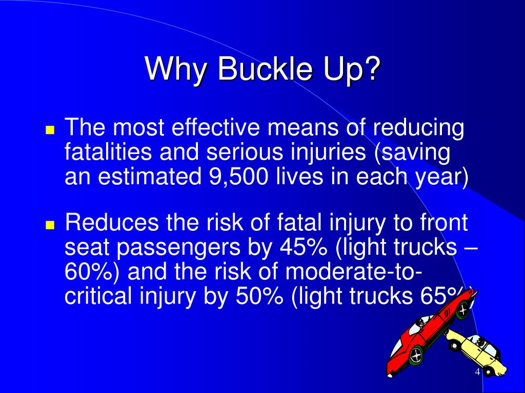 Why Buckle Up?