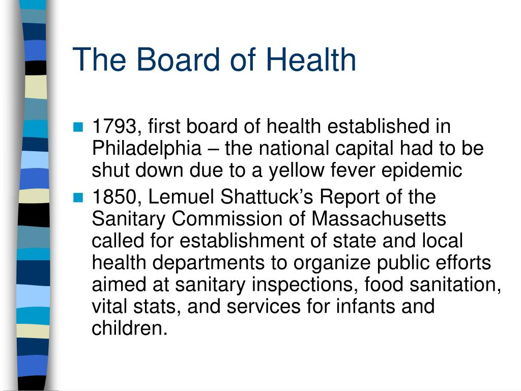 The Board of Health