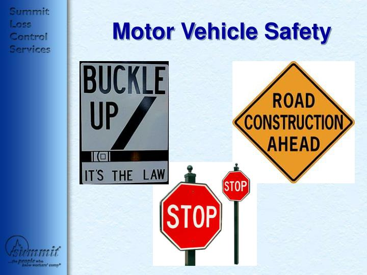 Ppt motor vehicle safety powerpoint presentation id 42821 Motor vehicle safety